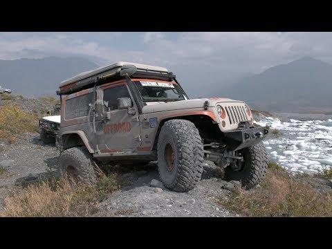 Ultimate Adventure 2019 Episode 1, Off Roading to Knik Glacier in Alaska #UA2019