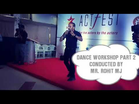 workshop by me in ACTFEST