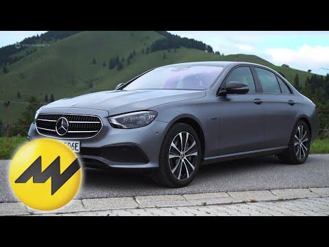 1000 km im Mercedes E300e | 2 Liter/100km: Hält er das Versprechen? | Motorvision
