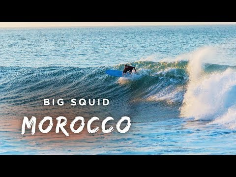 Longboarding Morocco Anchor Point (Lewis Stritch)