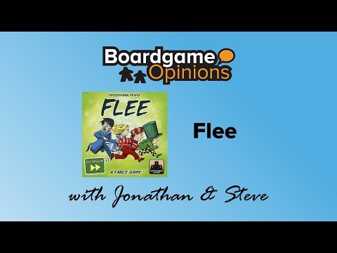 Boardgame Opinions: Flee