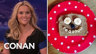 Reese Witherspoon's Inventive Food Instagrams   CONAN on TBS