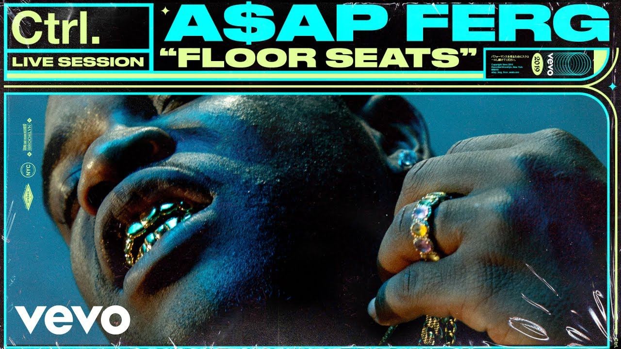 A$AP Ferg - Floor Seats | Live Session with Vevo Ctrl