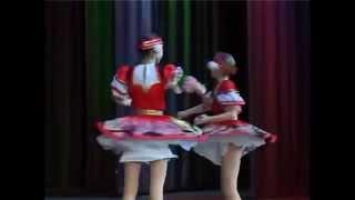 Веселый танец с ложками  Русские народные танцы