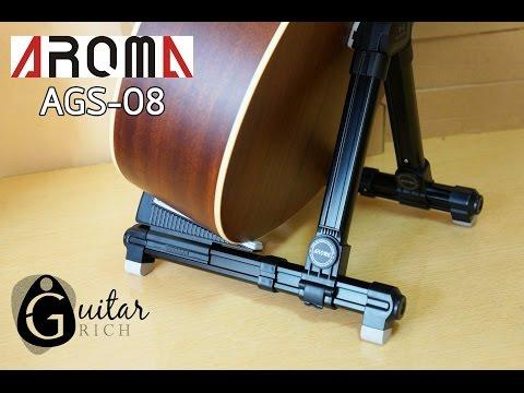 Giá đàn guitar chữ A Aroma AGS-08