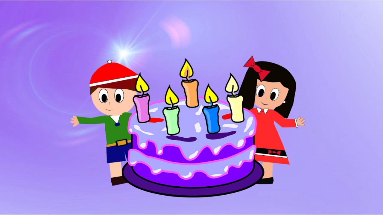Cumpleaños Feliz - Happy Birthday - Vídeos educativos para Niñosy Bebés - Paty y Poty