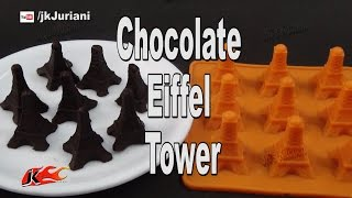 Eiffel Tower Moulded Chocolate JKs Kitchen 052