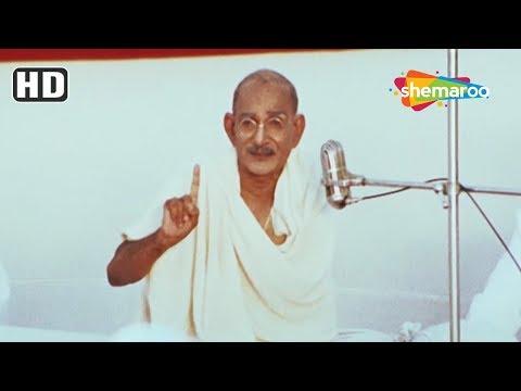 Mahatma Gandhi scene from The Legend Of Bhagat Singh - Ajay Devgn Action Scene - Jallianwala Bagh
