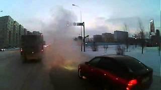 Автобус в Астане- Формула 1, отдыхает