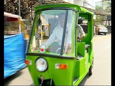 Kochi Solar E Rickshaw by GEM