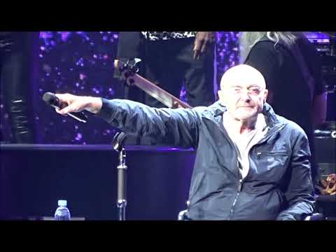 """Phil Collins """"Invisible Touch"""" live Oct 8 2018 - Philadelphia PA"""