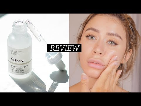 THE ORDINARY NIACINAMIDE 10% ZINC 1% REVIEW | On sensitive combo dry acne prone skin