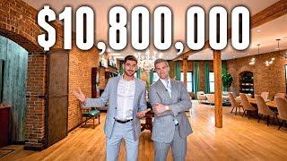 NYC Apartment Tour: $10.8 MILLION Historic Tribeca Luxury Apartment