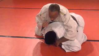 Judo: Simple, Effective Chokes on a Turtled Opponent