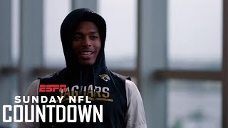 Jalen Ramsey On Creative Trash Talk And His Dream Matchup Against Randy Moss   NFL Countdown   ESPN