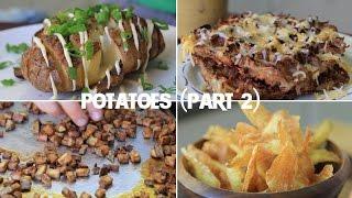 10 Creative Recipes Using Just a Potato (Part 2)