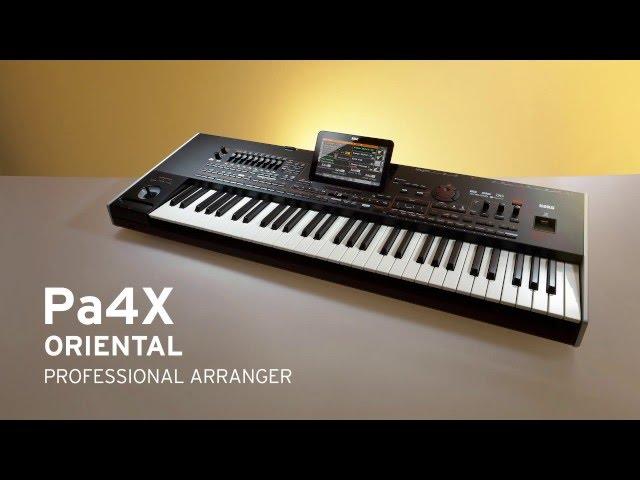 KORG Pa4X ORIENTAL - Professional Arranger for perfect Oriental Performance