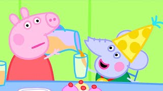 Peppa Pig Official Channel   Peppa Pig Helps Out at Edmond Elephant's Birthday Party