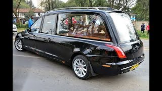 Collymore's body arrives at the Hindu crematorium in Kariokor amid tight security