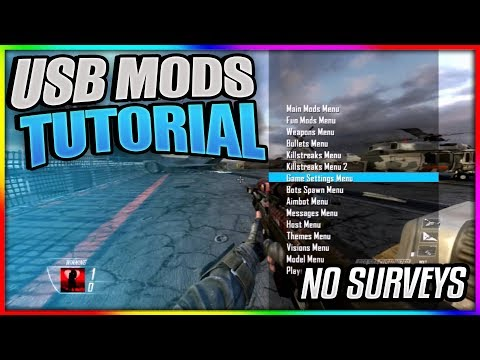 Black Ops 2: How To Install NEW USB MODS! | Tutorial + PROOF! | Xbox 1, PS3, XBOX, PC [BO2 USB MODS] Mp3
