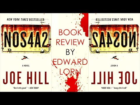 Book Review: NOS4A2 or NOS4R2, by Joe Hill