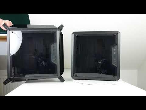 ausgepackt & angefasst: Cooler Master MasterBox Q300P und MasterBox Q300L - Mini-Tower im Doppelpack