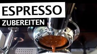 Espresso zubereiten | Schritt für Schritt zum perfekten Espresso | Tipps & Tricks