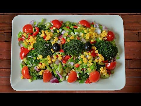Brokoli Salatası Tarifi / AYDANCA