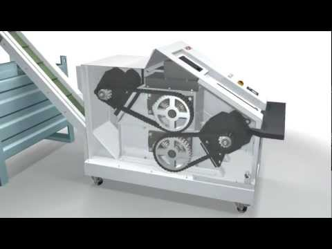 Video of the HSM Powerline HDS 230 Single Stage Hard Drive Shredder Shredder
