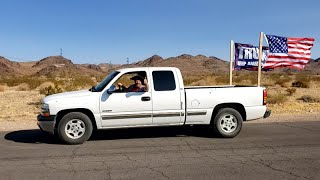 How To Build Truck Flags - Cheap & Easy !!