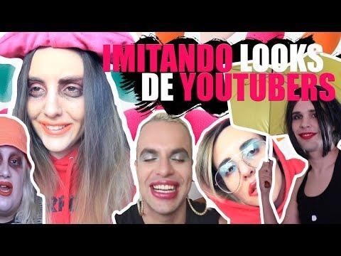 IMITANDO LOOKS DE YOUTUBERS | Andrea Compton #ad HD Mp4 3GP Video and MP3