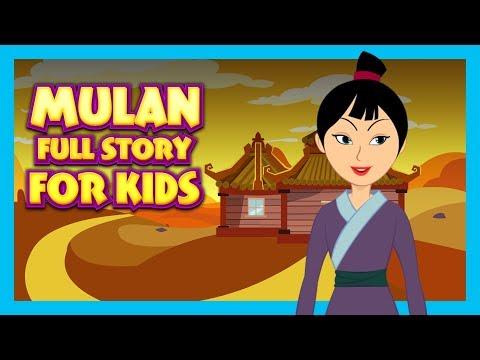 MULAN - FULL STORY FOR KIDS    BEST BEDTIME STORIES FOR KIDS