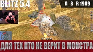 WoT Blitz - Не танкует и не фармит. Вся правда о Франкенштанк - World of Tanks Blitz (WoTB)