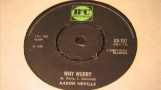 Aaron Neville  Why worry