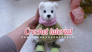 Polar Bear Amigurumi Crochet Tutorial