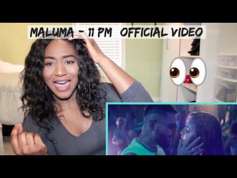 Maluma - 11 PM (Official Video) | REACTION