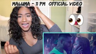 Maluma - 11 PM (Official Video) | REACTION