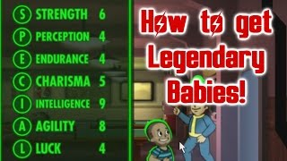 Fallout Shelter: How to get Legendary Babies