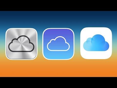 History of iCloud