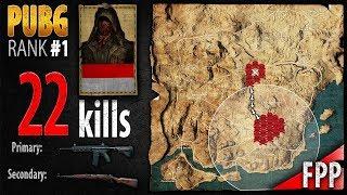 PUBG Rank 1 - WillyWinata 22 kills [SEA] SOLO FPP - PLAYERUNKNOWN