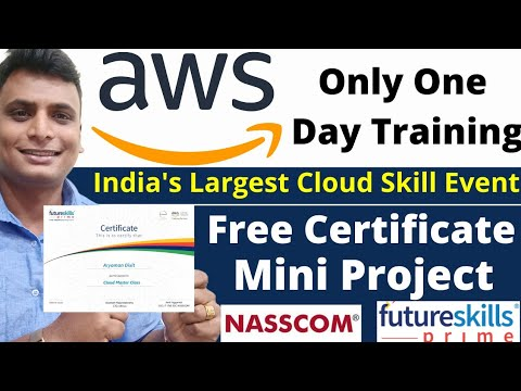 AWS Free Training with Certificate and Project   Aws Cloud Free ...