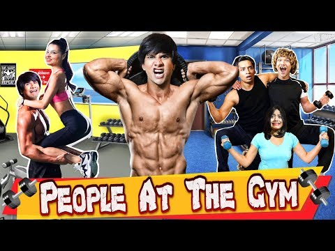 PEOPLE AT THE GYM : जिम | COMEDY VIDEO | MAKAR SAKRANTI SPECIAL | #Funny #Bloopers || MOHAK MEET