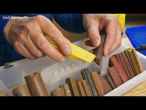 Macken im Holz reparieren wie ein Profi