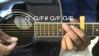 How To Play SUPERMAN Joe Brooks On Guitar Part 1 Capo 11 EricBlackmonMusic