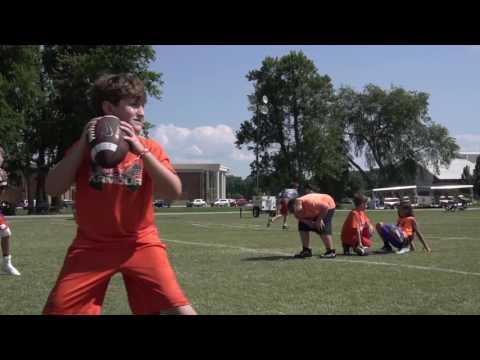 Clemson Football    Dabo Swinney Football Camp Highlights