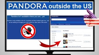 ▶ How to use Pandora Radio abroad outside the US (Proof!)