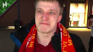 Liverpool fans in tears react after losing Champions League Final