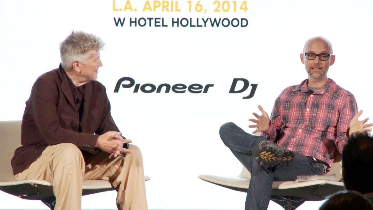 IMS Engage 2014: David Lynch In Conversation With Moby