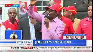 President Uhuru Kenyatta maintains that the repeat polls will proceed as planned
