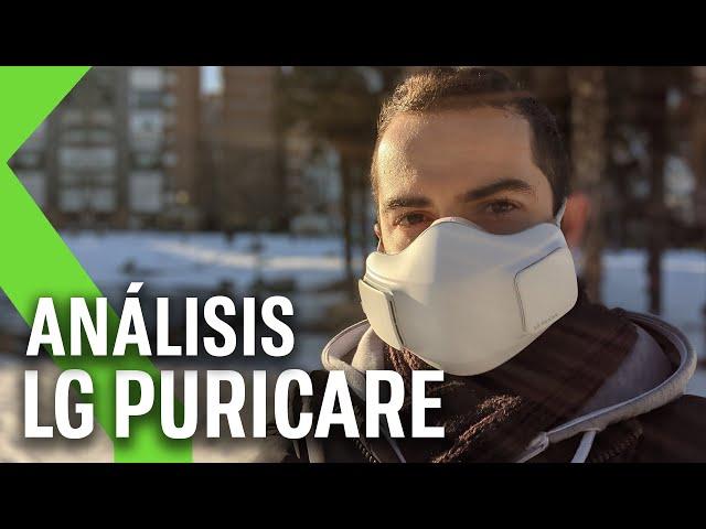 Mascarilla LG PuriCare ANÁLISIS - ¿Veremos alguna vez una mascarilla de Apple?